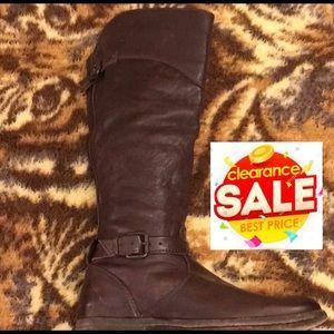 🔥Frye Phillip Zip Distressed Buckle Brown Boots 9